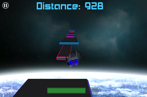 Space Junk Runner Screenshot
